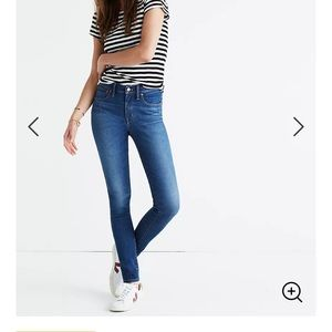 "Madewell 9"" Mid-Rise Skinny Jean"